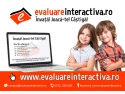 sistem evaluare. S-a lansat platforma pentru copii - EvaluareInteractiva.ro