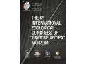 """Congres. Al șaselea Congres Internațional de Zoologie al Muzeului """"Grigore Antipa"""""""
