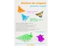 ateliere pentru copii. Ateliere de origami pentru copii