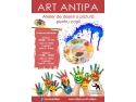Invitație de participare la Atelierele Art Antipa