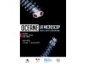 "Invitație la vernisajul expozitiei ""OCEANE LA MICROSCOP. Expoziție foto de plancton marin"""