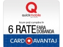 Card Privilege. Quickmobile.ro implementeaza plata prin Card Avantaj