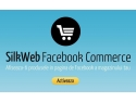 aplicatie facebook. silkweb facebook commerce