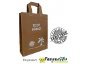 zero tree bags. Sacosa confectionata manual din frunze de bananier