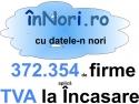 372354 de firme aplica TVA la incasare. conform datelor ANAF