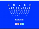 sover optica. Stegulet promotional Sover Optica Group