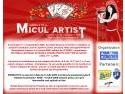 S-a dat startul inscrierilor la Festivalul National de Muzica Usoara pentru Copii MICUL ARTIST