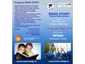 calificari internationale. Flyerul Mara Study - voucher de reducere