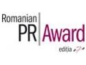Incep inscrierile la Romanian PR Award, editia a saptea