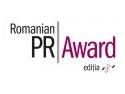 Junior PR Award. Start pentru Romanian PR Award, ediţia a opta