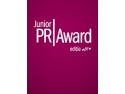 cel mai bun comunicator medic. Junior PR Award, editia a IX-a