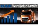antene auto camioane. DAF în creștere de vânzări, susținut de Stoneridge