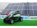 panouri fotovoltaice. Fomco Eco-Electric car