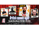 British Comedy Night @ Mojo Lumea-Auto ro