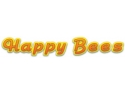 happy bees. Logo Happy Bees