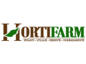 gradina. Logo HortiFarm