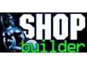 culturism. Logo ShopBuilder