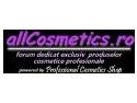 S-a lansat primul forum dedicat exclusiv produselor cosmetice profesionale - www.allcosmetics.ro