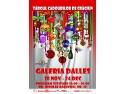 24 decembrie. Din  28 noiembrie până în 24 decembrie, Sala Dalles se transformă în Galeria Cadourilor de Crăciun!