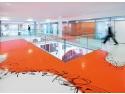 Sediul Telekom AG, Darmstadt_Germania. Design & executie Jeanet Hoenig