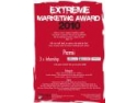 award. Extreme Marketing Award 2010