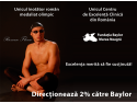 Fundatia Bay. Razvan Florea, medaliat olimpic la inot, sustine campania 2% Baylor