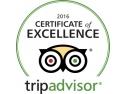 Certificat de Excelenta TripAdvisor 2016