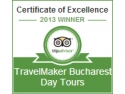 certificatul. TravelMaker Certificate of Excellence