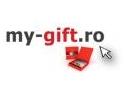 the charity shop. www.my-gift.ro, doneaza 5 % din vanzari catre asociatii de protectia copiilor prin charitygift.ro