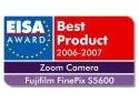 "Fujifilm FinePix S5600 a fost desemnata de catre EISA ""EUROPEAN ZOOM CAMERA 2006-2007"""