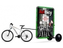 bicicleta ktm. AdBicy, remorca publicitara de bicicleta produsa in Romania, expusa la targurile internationale Viscom Milano si Viscom Frankfurt