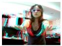 3D. Fetele Norocoase fotografie 3D