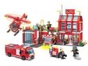 lego l. Jucarii Lego City Statie de Pompieri