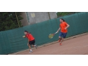 banda dublu adeziva. Tenis Partener - România Joacă Tenis la Dublu 2016
