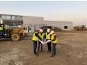 Incepere Constructie Fabrica Pavaje Beton Strejnicu Prahova