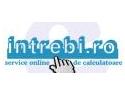 S-A LANSAT PRIMUL SERVICE ONLINE GRATUIT DE CALCULATOARE DIN ROMANIA - WWW.INTREBI.RO