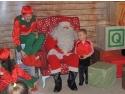 acasă la Moș Crăciun. Moș Crăciun s-a mut în casa lui din Băneasa Shopping City