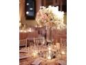 Aranjamentele florale ale unei nunti de poveste!