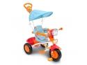 tricicleta cu maner, muzica si lumini Piccino Piccio