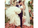 buchete flori. Nunta de vis- decor de poveste cu ajutorul florilor!