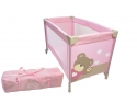 pliante. Patut pliant Little Bear Rose King Bear