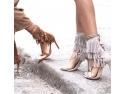sandale cu toc. Sandalele cu toc potrivite oricarui stil