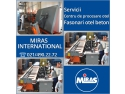 taiere in beton. MIRAS INTERNATIONAL