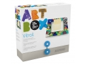 set bretele cu papion. Set creatie copii ALPINO Art Box Vitrail