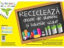 """""""tu reciclezi. """"TU RECICLEZI,  NOI TE PREMIEM"""" - campania de educaţie ecologică desfăşurată de Alucro şi ECOTIC BAT"""