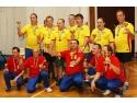 fotbal. Echipa Romaniei si a Serbiei la premiere.