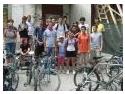 invat sa merg pe bicicleta. S-a dublat numarul participantilor la Pelerinajul pe bicicleta organizat de Biserica Toma Cozma din Iasi