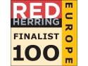 inovația tehnologică. Red Herring Top 100 Europe Finalist