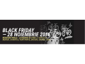 advertising bike. DOAR azi Veloteca are lichidari de Black Friday.Bike Friday