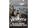 advertising bike. Ciprian Balanescu - campion national triatlon, va anunta Black Friday la Veloteca